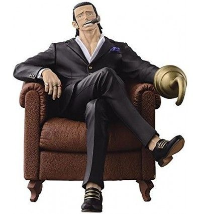 Banpresto One Piece CREATOR X CREATOR SIR.CROCODILE BLACK SUIT