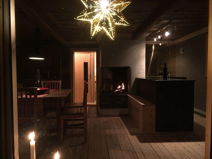 Small but Cousy. Our new kitchen in the mountain cabin. #interior #kitchen #kök #fjällstuga