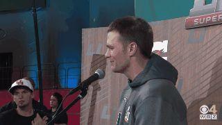 Tom Brady se emocionó antes del Super Bowl. Un niño hizo llorar al jugador de fútbol americano