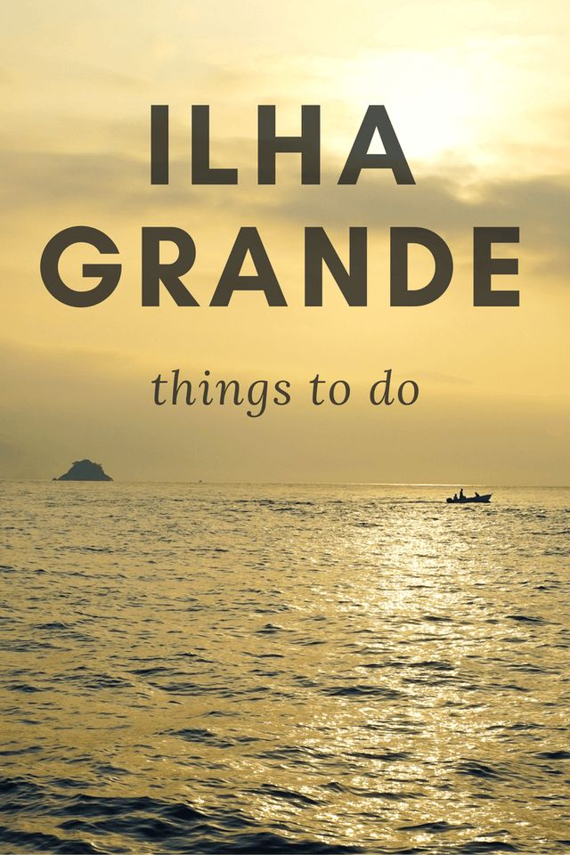 Backpacking in Brazil: Ilha Grande Things to Do. ilha grande rio de janeiro . Brazil Backpacking. tropical island paradise wanderlust. Brazil travel bucket lists south america ☆☆ Travel Guide / Bucket List Ideas Before I Die By #Inspiredbymaps ☆☆