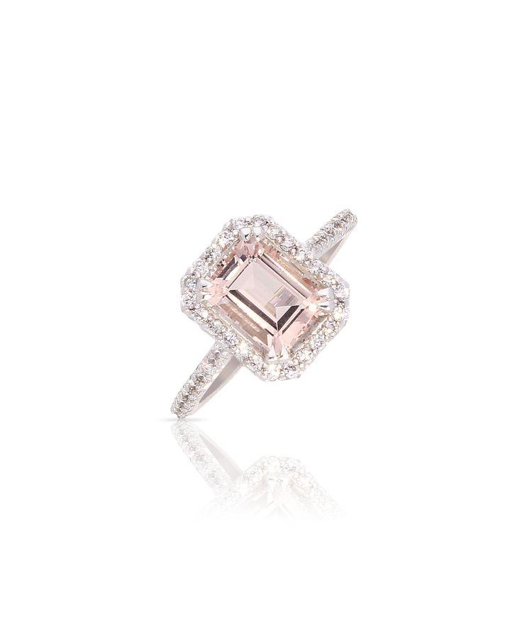 Magnificent morganite. Jenna Clifford Designs | Fine Jewellery � Rings