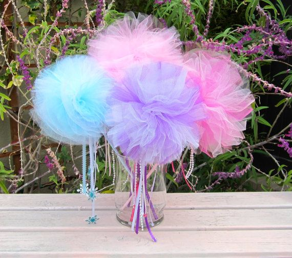 Create your Own Tutu Wands, Tutu Party Favor, Tutu Party, Ballerina Party, Pink Tutu, Princess Party Favors, Tutus on Etsy, $8.00