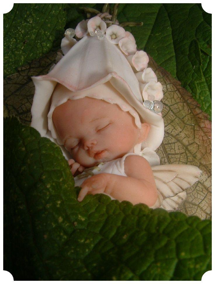diane guelinckx fairy baby   Een aantal jaren terug heb ik mijn eerste bladelfje gemaakt, heel ...