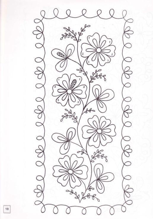 Resultado de imagen de dibujos para bordar refajos murcianos ...