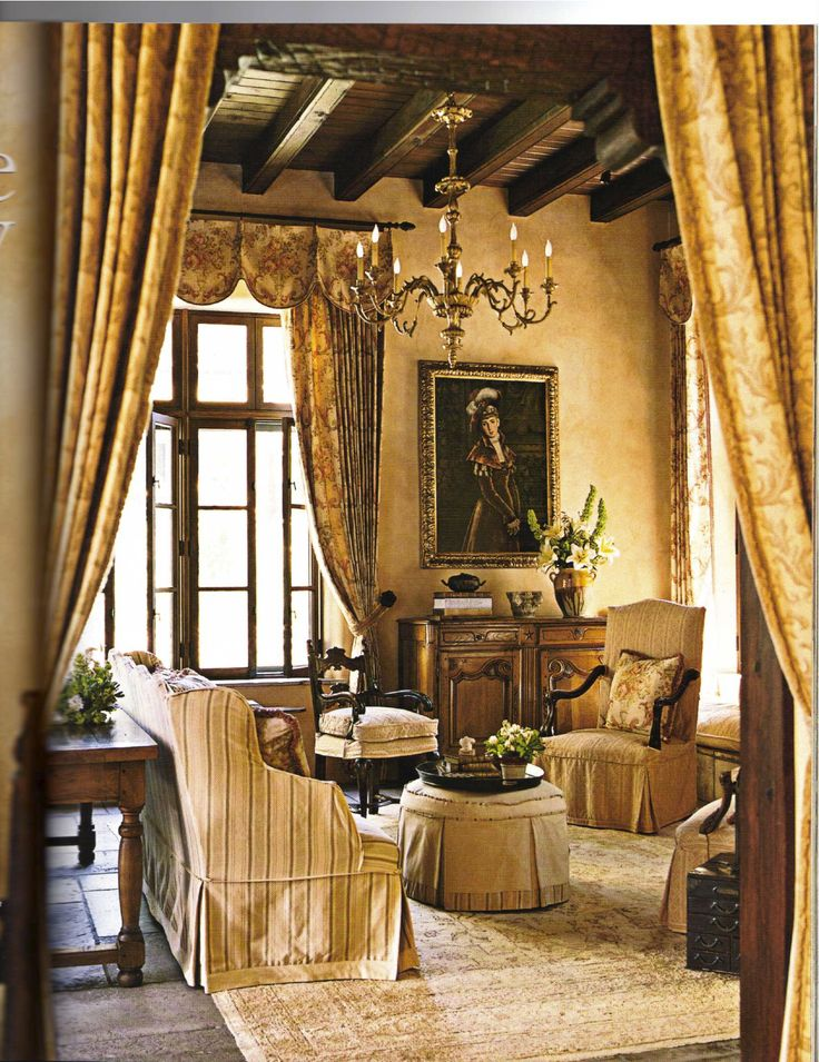 """Old world elements from France & Italy in a Southwestern style home in Santa Fe by Houston designer Beverly Jacomini. This photo was in the September-October 2007 Southern Accents Magazine, """"Santa Fe Getaway"""" article. Beautiful!"""