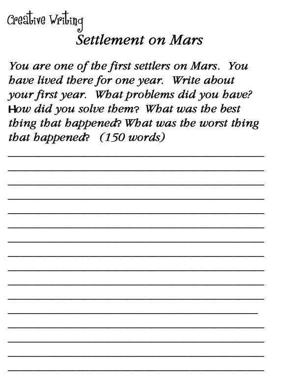 2nd Grade Writing Worksheets Best Coloring Pages For Kids Creative Writing Worksheets Writing Worksheets Creative Writing Exercises 2nd grade writing worksheet