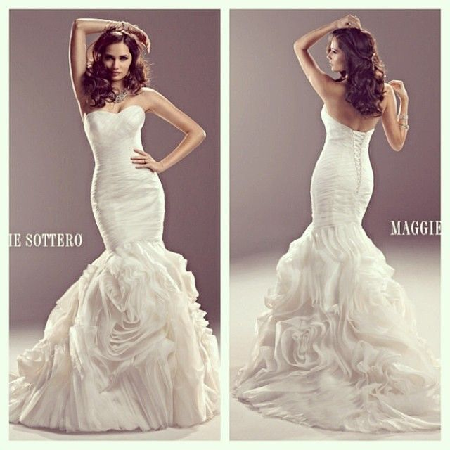 maggie sottero wedding dress from weddings with joy