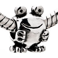 Pugster Lovely Smiling Frog Pandora Style Beads