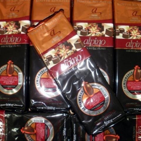 Chocolate Baño Moldeo X 3 Kg - Alpino