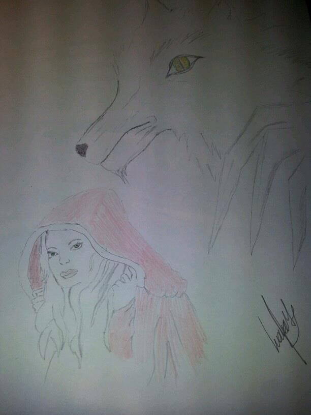 red riding hood draw