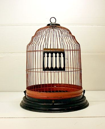 Victorian Bird Cage via PoetryofObjects on Etsy