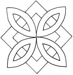 """Pinwheel & Square 11"""""""