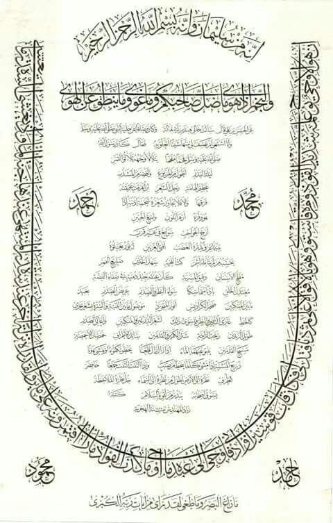 Mejores 48 imágenes de سورة النجم en Pinterest | Arte islámico, Alá ...