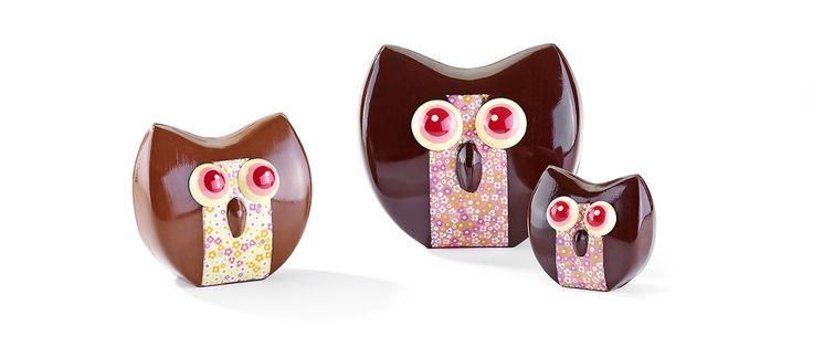Chouettes de Fabrice Gillotte, MOF, Dijon