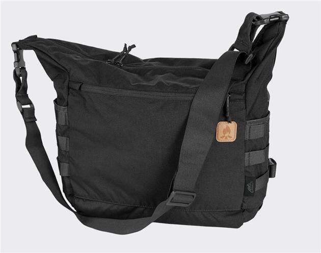 Taška přes rameno - BUSHCRAFT - Černá - Helikon