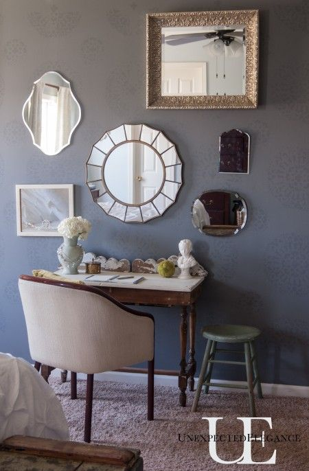 Mirrored Wall at Unexpected Elegance
