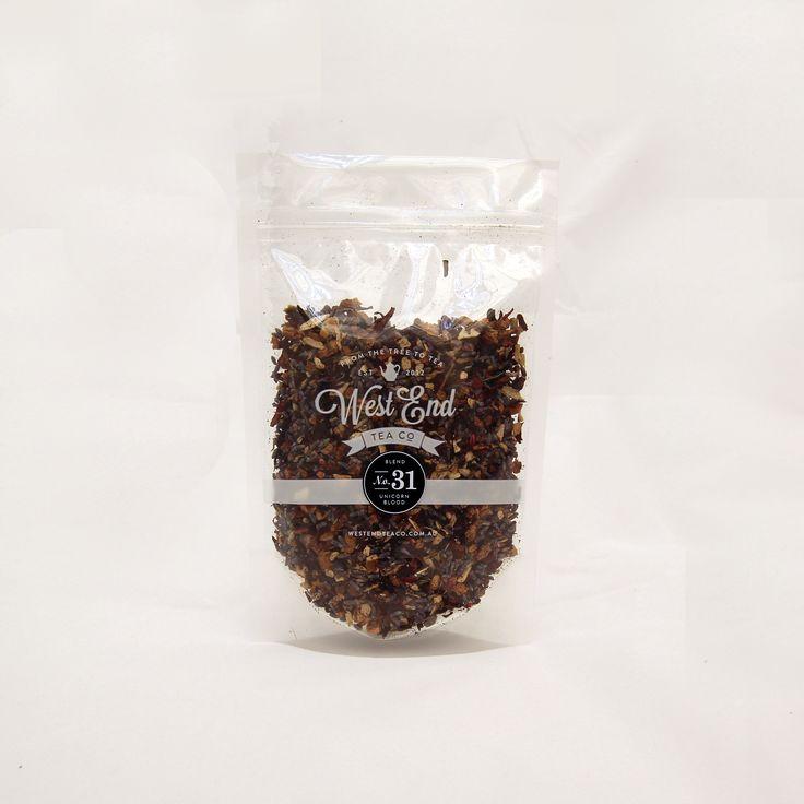 Organic Unicorn Blood Tea; it has lavender in it. <3