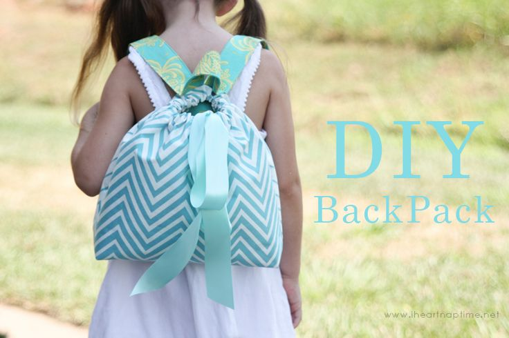 DIY-Backpack by Girl Inspired on iheartnaptime.com