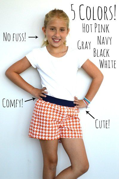 Riley Blake Designs: Easy Elastic Waistband Shorts