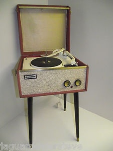 ICONIC DANSETTE TEMPO VINTAGE RECORD PLAYER