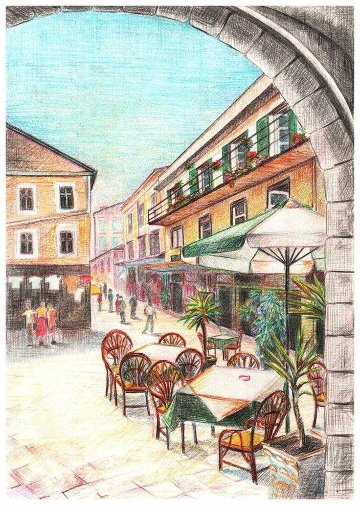 City of Corfu by JoaRosa