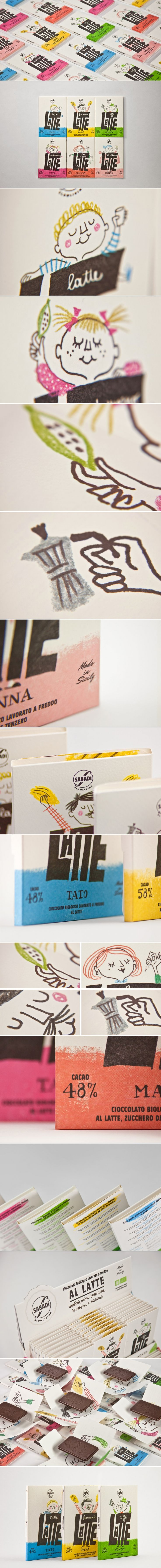 LATTE by Sabadì — The Dieline - Branding & Packaging Design
