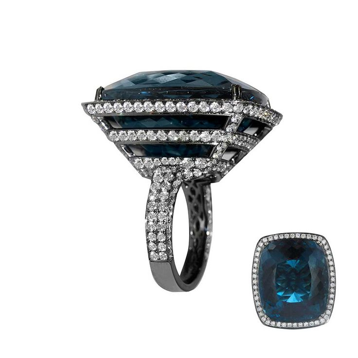 CIJ International Jewellery TRENDS & COLOURS - Ring by Jacob & Co