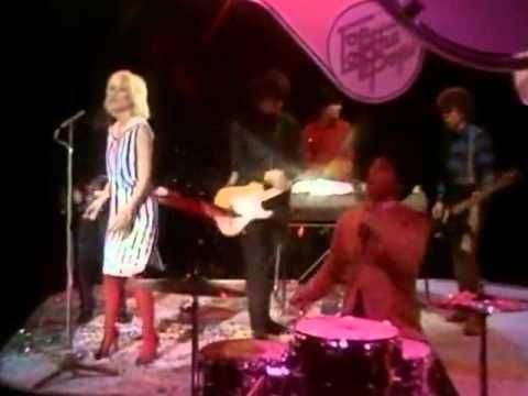 Blondie Dreaming - my favourite Blondie song.  And how cute is the sailor dress with red knee his and high heels.