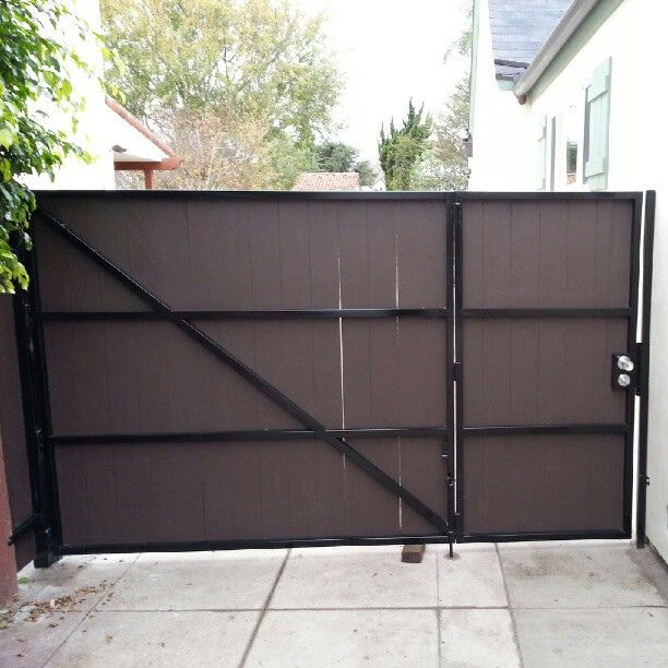 124 Best Front Gate Images On Pinterest | Front Gates, Fencing And Wood