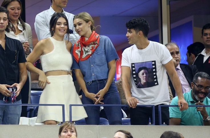 Kendall Jenner Is the Cutest Third Wheel on Gigi Hadid and Joe Jonas's US Open Date