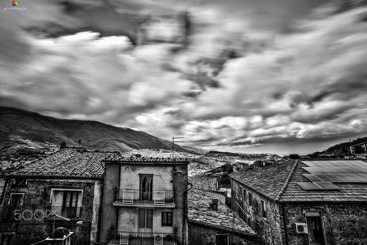 The Old Village! - San Fili ©2016 Storm-Little village sud Italy.