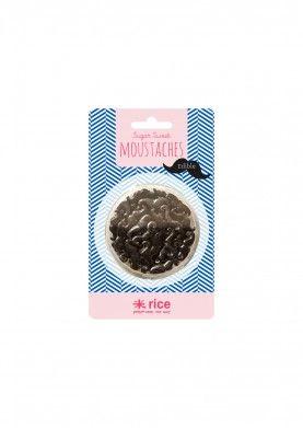 Kuchendeko Schnurrbart essbar