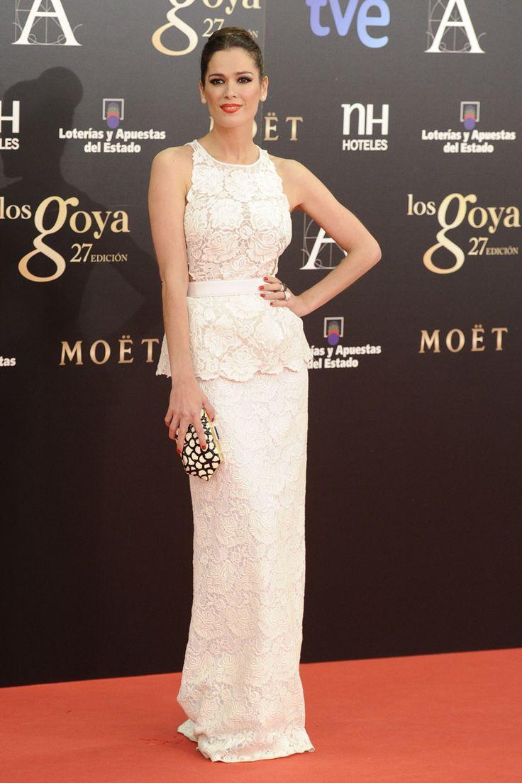 Todas las imágenes de alfombra roja y celebrities de los Premios Goya 2013: Mar Saura de Stella McCartney