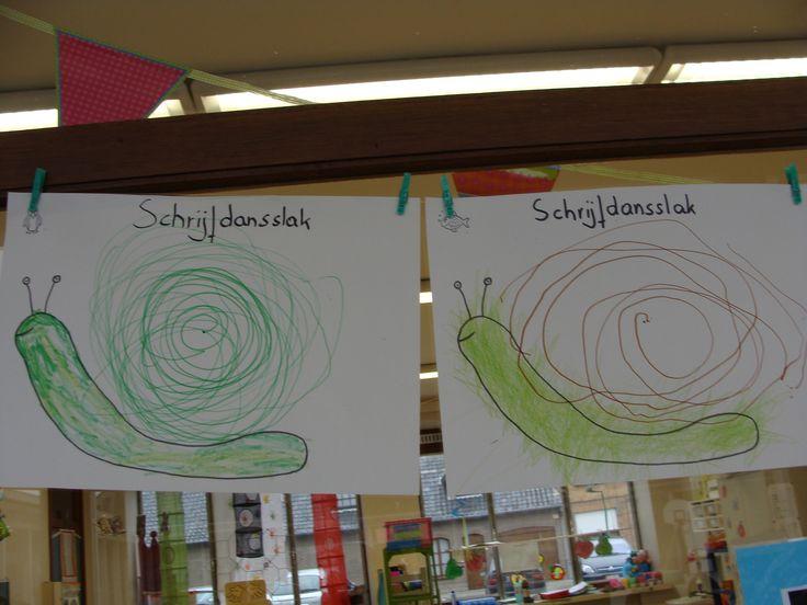 Schrijfatelier: de cirkel: de slak