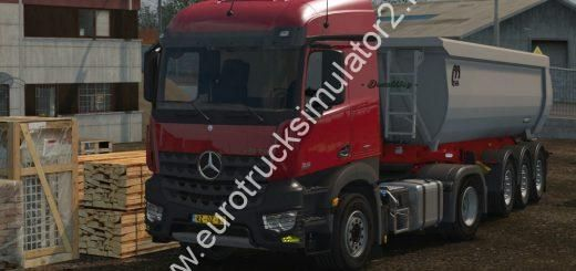 Ets 2 Real Mercedes Benz Mp4 Sound 1 32 Euro Truck Simulator 2