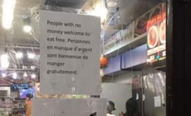 The Marché Ferdous gives free meals year round to anyone without money – no questions asked.