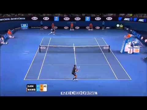 Shot Of The Day: Djokovic - Australian Open 2013