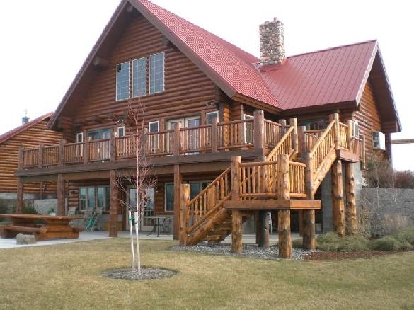 Log Cabin = rustic living