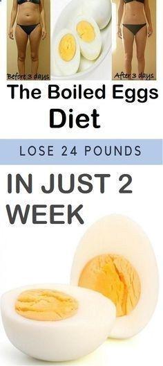 Die Diät mit gekochtem Ei zur Gewichtsreduktion   – Gewichtsverlust 2