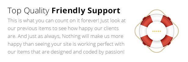 Vertical Menu HTML5 Template