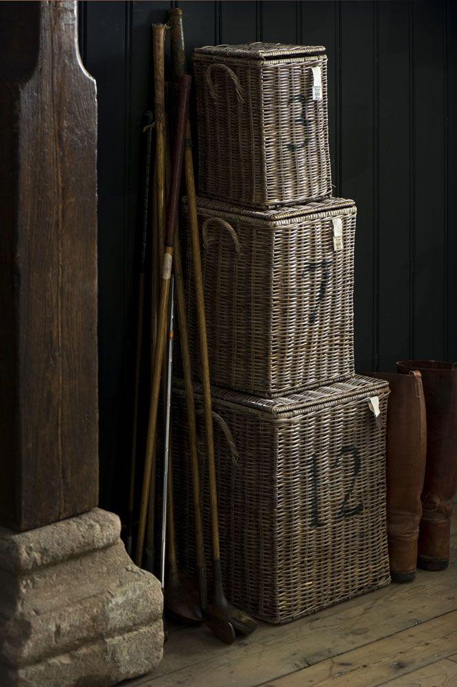Storage baskets from Riviera Maison