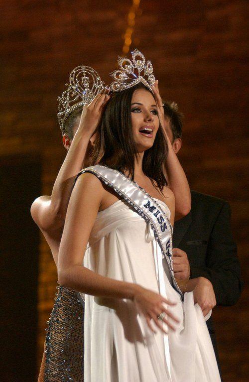 Oxana Fedorova Miss Universe winner 2002