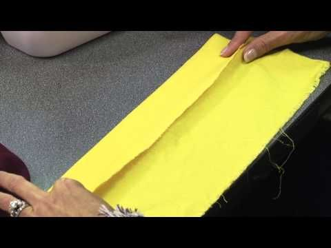 How To Create a Blind Hem Stitch Using Your Home Sewing Machine with Angela Wolf