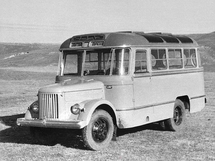 ПАЗ-671А Опытный '09.1958