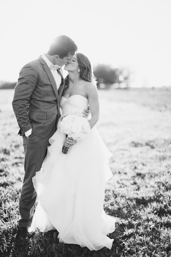 Classic Black and White Wedding Photography Idea - Watters wedding gown