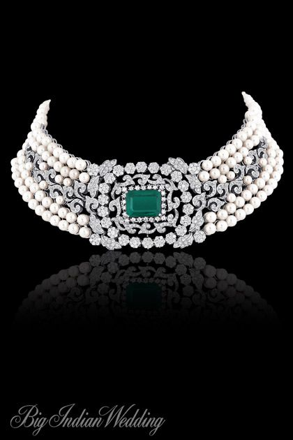 AS Motiwala bridal choker