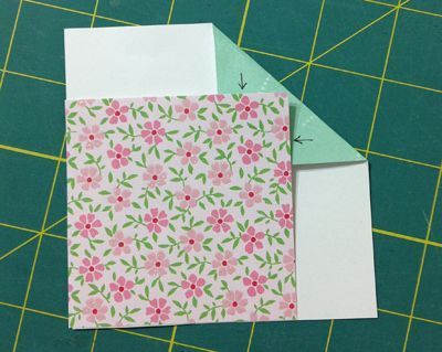 Tuck the point how to do a corner for a quilt