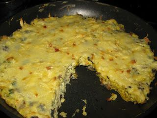 Bariatric Foodie: Jen's Mushroom and Smoked Cheddar Frittata