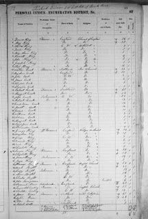 1851 Census for Canada Online at Library and Archives Canada (LAC)