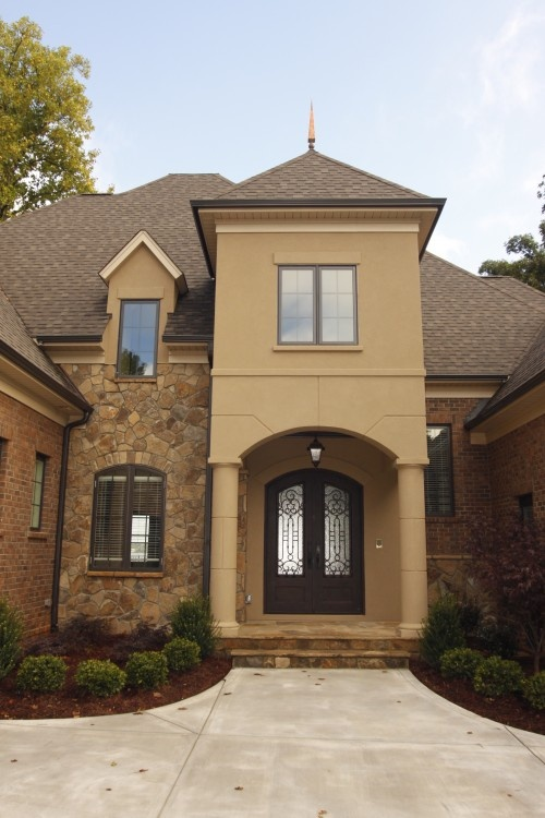 68 best stucco walls images on pinterest stucco walls for Stucco colors for houses exterior